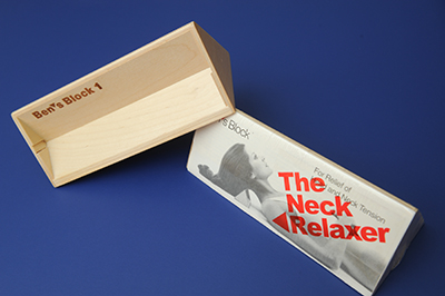 Ben's Block Neck Relaxer - (Qty: 6 or more)